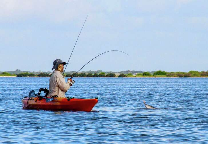 Fishing is available in a number of Houston parks.