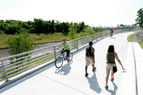 White Oak Bayou Greenway features miles of urban hike and bike trails.