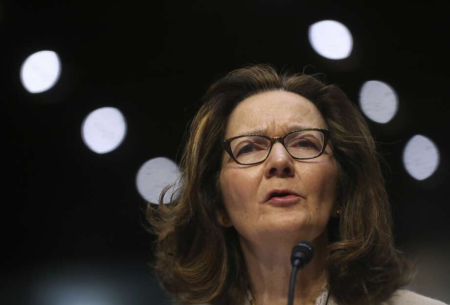 Gina Haspel, President Trump's nominee for CIA director, testifies before the Senate Intelligence Committee this week. Photo: Pablo Martinez Monsivais / Associated Press