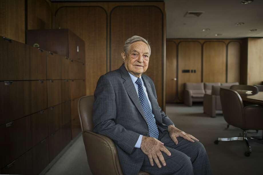 George Soros, the billionaire financier and philanthropist, has contributed to candidates in Alameda and Contra Costa counties and in Sacramento. Photo: Joshua Bright / New York Times