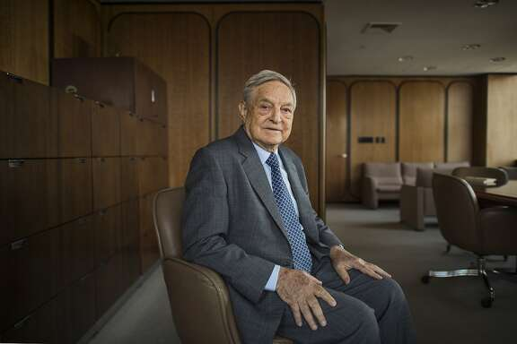 **EMBARGO: No electronic distribution, Web posting or street sales before Thursday March 10, 2016 at 2:45 a.m. EST. No exceptions for any reasons. EMBARGO set by source.**  FILE � George Soros, the billionaire financier and philanthropist, in New York, May 27, 2014. Soros will be a key backer of Immigrant Voters Win PAC, a new vehicle focused exclusively on turning out support from Latinos and other immigrant communities in the 2016 elections.  (Joshua Bright/The New York Times)