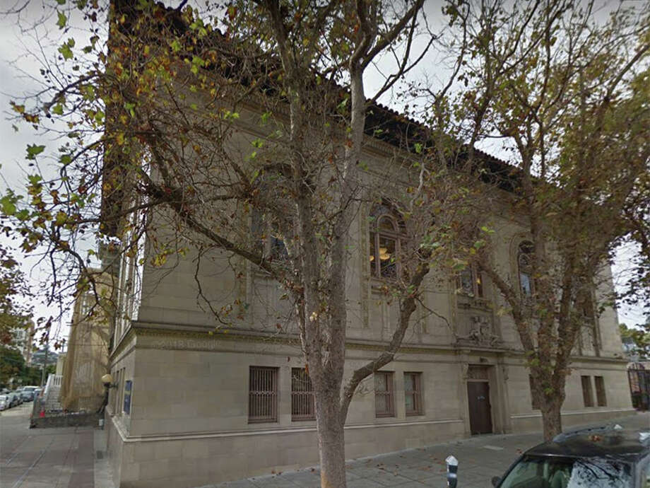 San Francisco Public Library and Public Works are planning to renovate the Mission Branch Library at 300 Bartlett St. (and 24th). Photo: Google Maps
