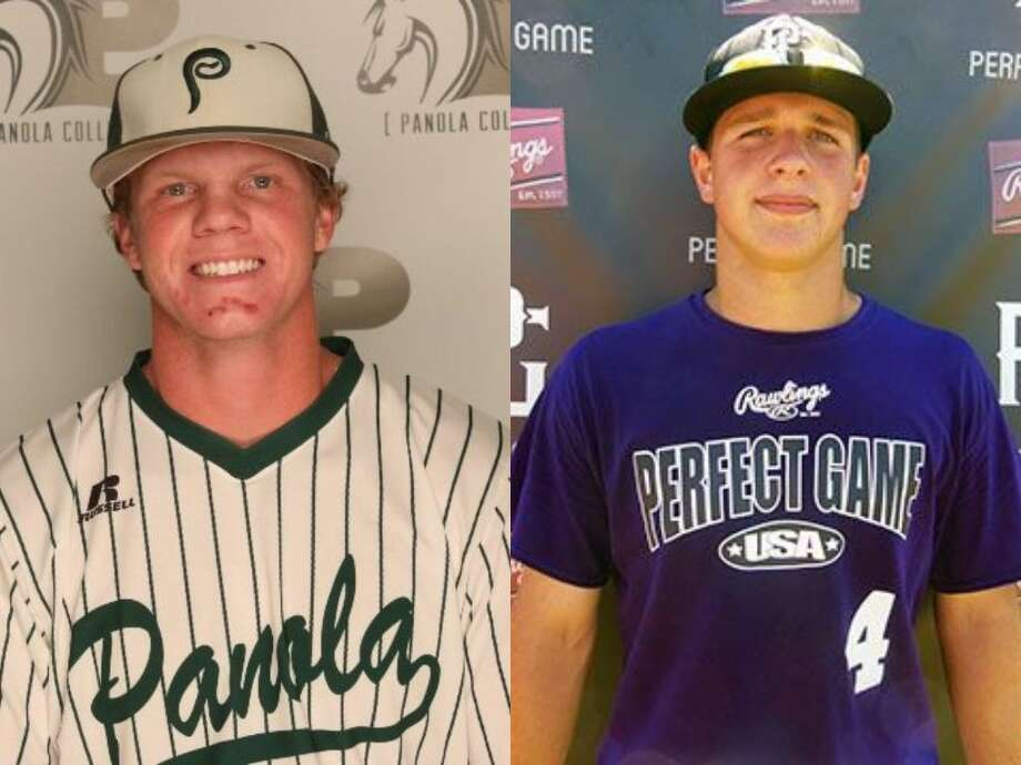 Former Oak Ridge baseball players Michael Lawson (left) and Tyler Hix (right). Photo: Photo Provided