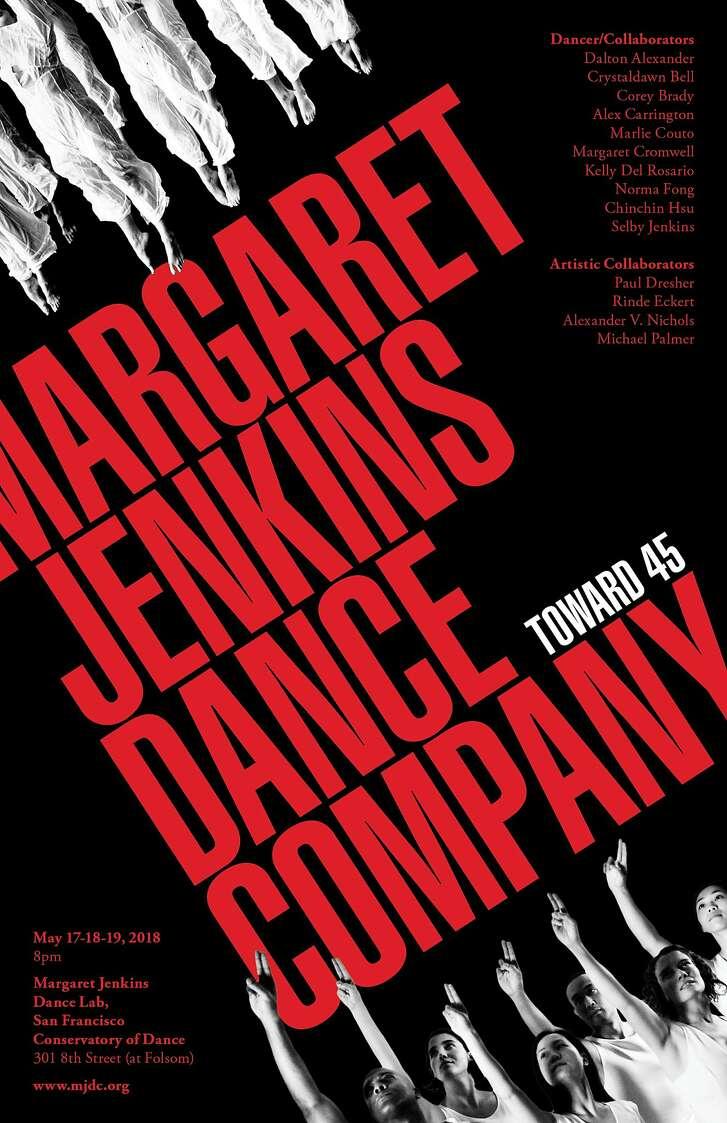 "Margaret Jenkins Dance company presents ""Toward 45,"" Thursday-Saturday, May 17-19.   Image courtesy Margaret Jenkins Dance Company"