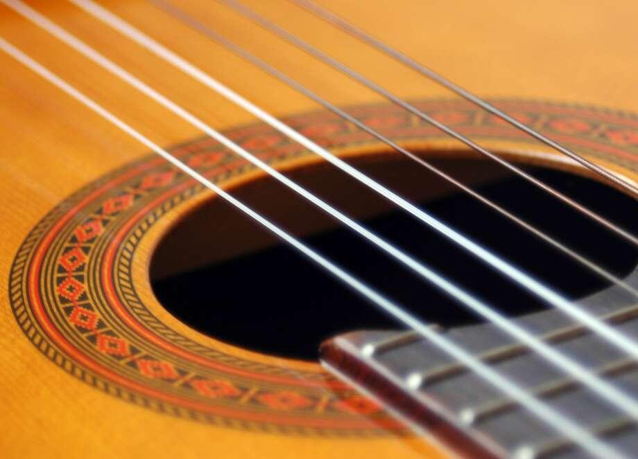 Acoustic guitar Photo: COURTESY PHOTO