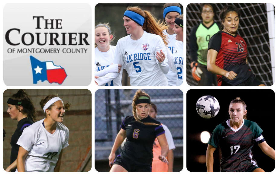 Oak Ridge's Grace Eason, Caney Creek's Maria Benitez, The Woodlands' Peyton Graves, Montgomery's Caroline Call and The Woodlands' Sidney Runeberg are The Courier's nominees for Defensive MVP.