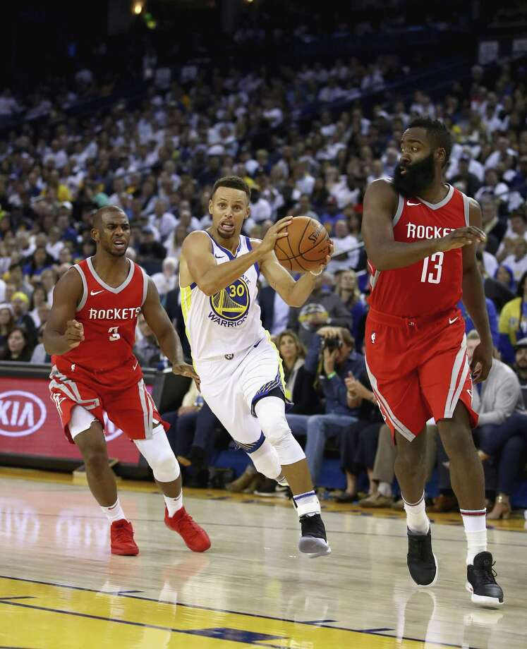 James Harden And Stephen Curry: Next Up For Warriors: A Rockets Team Purposely Built To