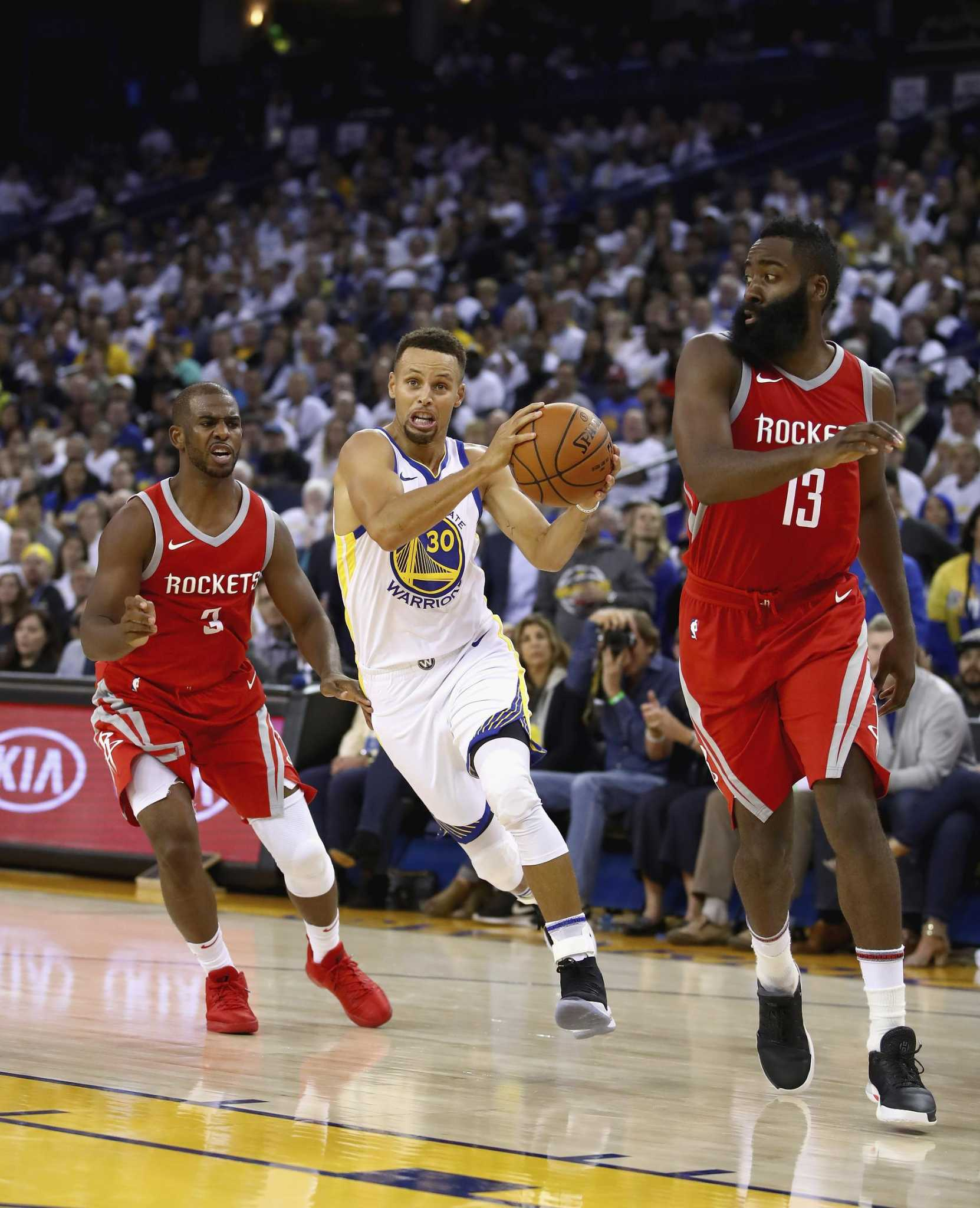 1ab0975121a Next up for Warriors  a Rockets team purposely built to beat them - SFGate