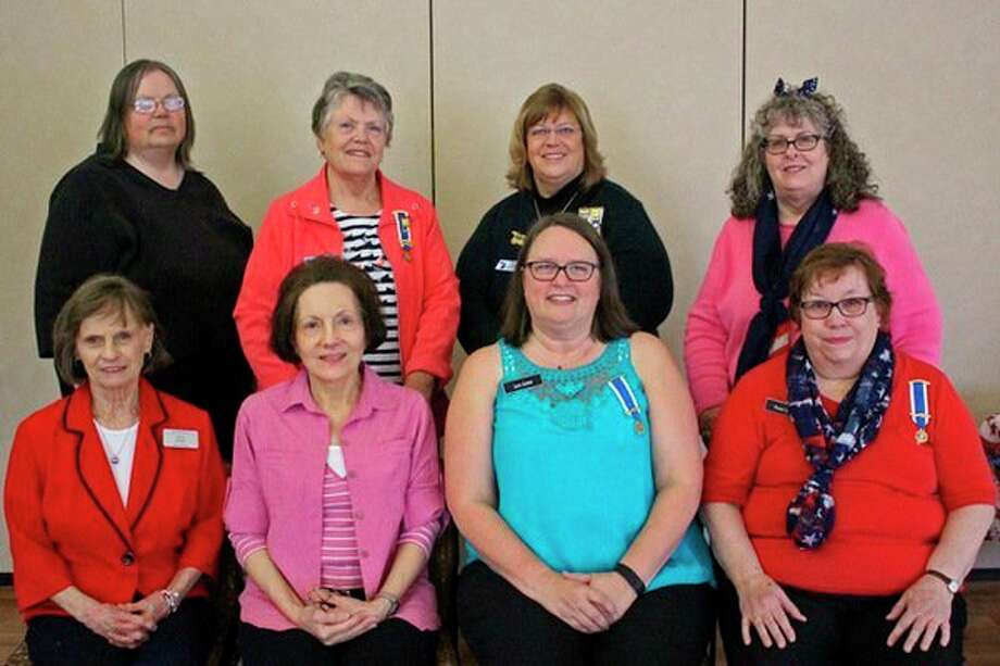 New, local DAR officers are, front row, from left:Rebecca Hodges, Pamela Kirchhoff, Lynn Schiel and Karen Miller.Back row, from left: Mary Strouse, Linda Fisher, Thora Goodnight and Ann Percha. (Photo provided)
