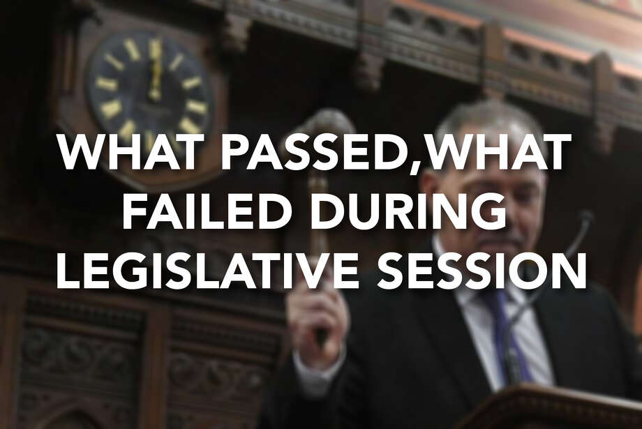 Continue ahead for a look at what passed and failed during the General Assembly's 2018 legislative session. Photo: .