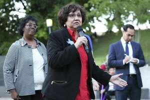 Lupe Valdez will face Andrew White in the Democratic runoff May 22 for the gubernatorial nomination.
