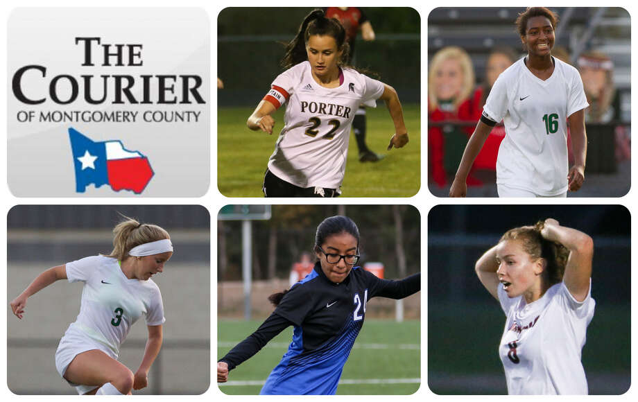 Porter's Kelly Rodriguez, The Woodlands' Jazzy Richards, The Woodlands' Lauren Toma, New Caney's Itzhel Garcia and Magnolia's Brooke Mallory are The Courier's nominees for Offensive MVP.
