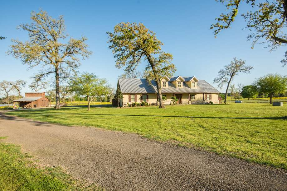 "Philanthropist Richard ""Dick"" Wallrath's sprawling Champion Ranch in Centerville, Texas, is for sale. It includes over 5,000 acres, a 78-acre lake and it even has its own saloon.