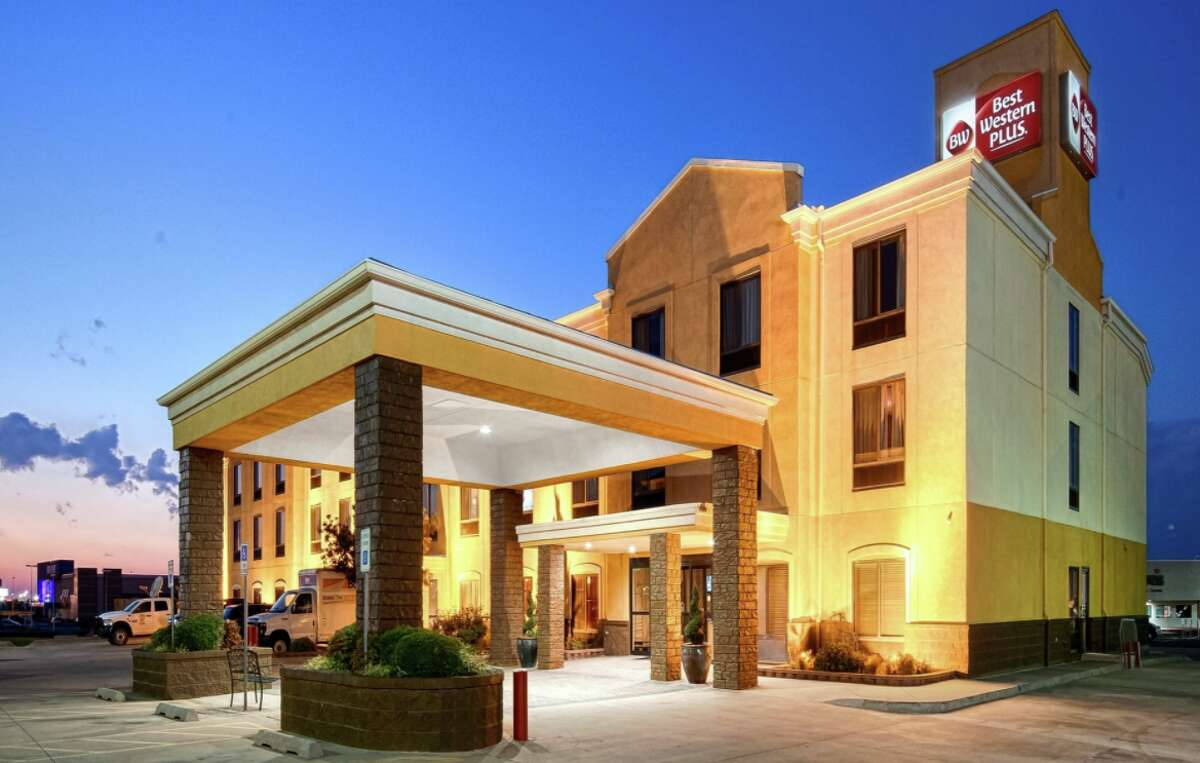 Exterior of the Best Western Memorial Inn & Suites in Oklahoma City after renovation