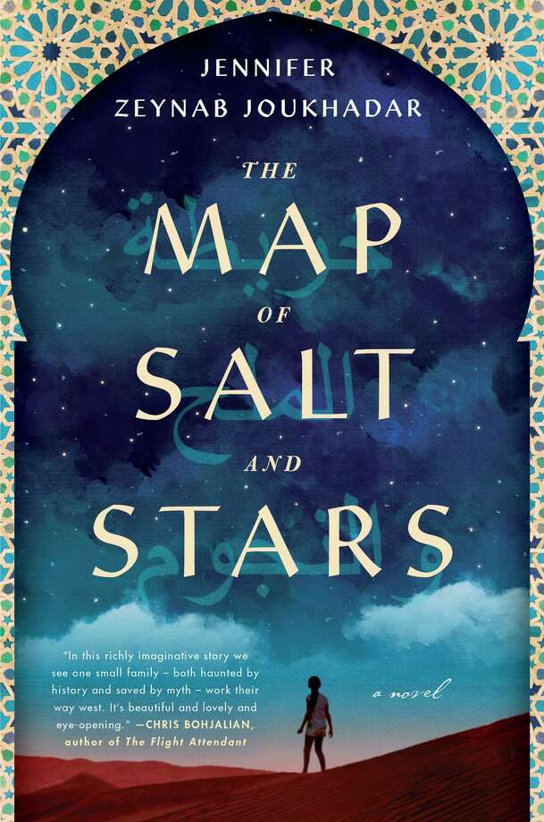 """Northshire Bookstore in Saratoga Springs will be hosting Syrian-American author Jennifer Joukhadar Friday, May 11 for a talk on her book """"The Map of Salt and Stars"""", led by Terrence Diggory of the Saratoga Immigration Coalition."""