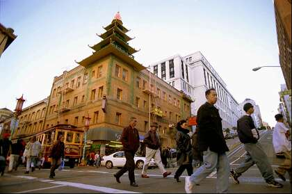San Francisco's Chinatown was a seedy ghetto  Then a stage