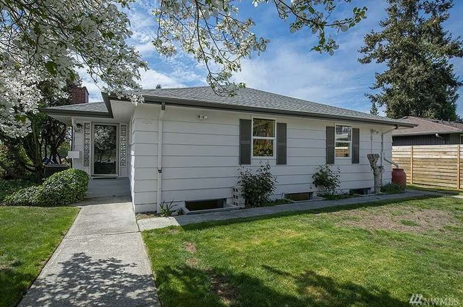 The property at 8821 22nd Ave SW is listed for $479,000. See the full listing below. Photo: Redfin.com