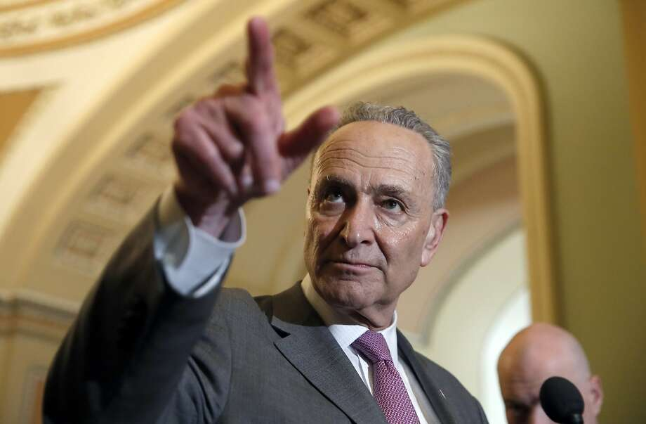 "Sen. Chuck Schumer warned Republicans that ""this is a very dangerous road you're treading."" Photo: Alex Brandon / Associated Press"