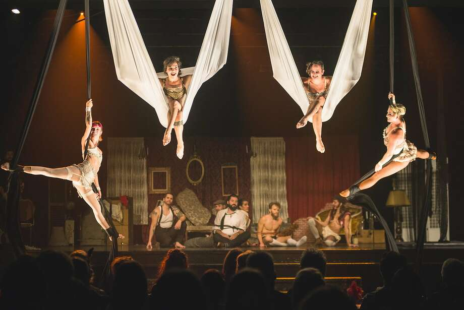 """Cirquantique will perform """"Bang! Bang!,"""" a nouveau cirque show that centers on a night of intrigue during prohibition-era Quebec, at the San Francisco International Arts Festival. Photo: San Francisco International Arts Festival"""