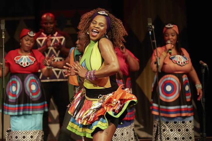 Society for the Performing Arts brings back the high-spirited Soweto Gospel Choir Oct. 24.