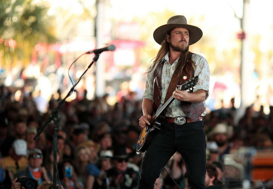 Lukas Nelson and Promise of the Real will be at the Strawberry Music Festival in Grass Valley (Nevada County), before heading to BottleRock in Napa. Photo: Christopher Polk / Getty Images For Stagecoach