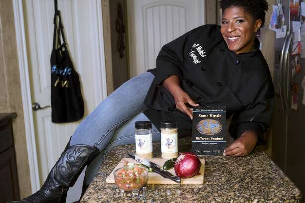 "Chef Meleka McGee hopes to inspire others with her story – ""Same Hustle, Different Product,"" about how she has rebuilt her life after career setbacks and spending time in jail."