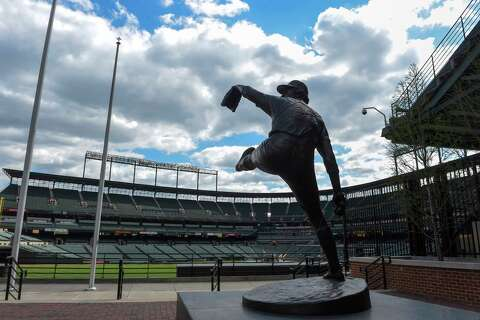 199aec12ae0d The statue of Hall of Fame pitcher Jim Palmer at Camden Yards in Baltimore.