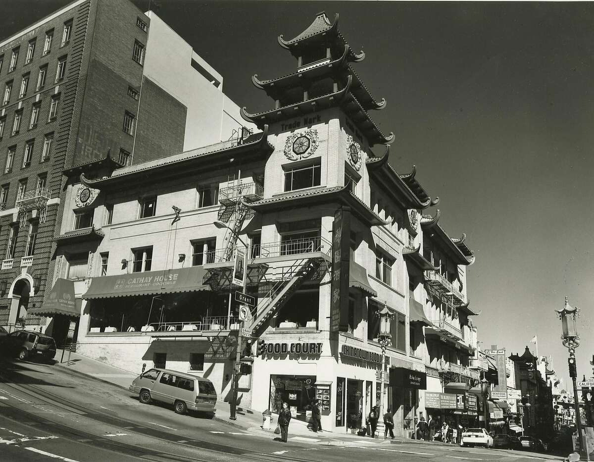 Building on Grant and California that was on of the first two buildings built in Chinatown after the 1906 Earthquake. For Chinatown story ofr our Earthquake package. 3/24/06 Photo: Mark Costantini/San Francisco Chronicle