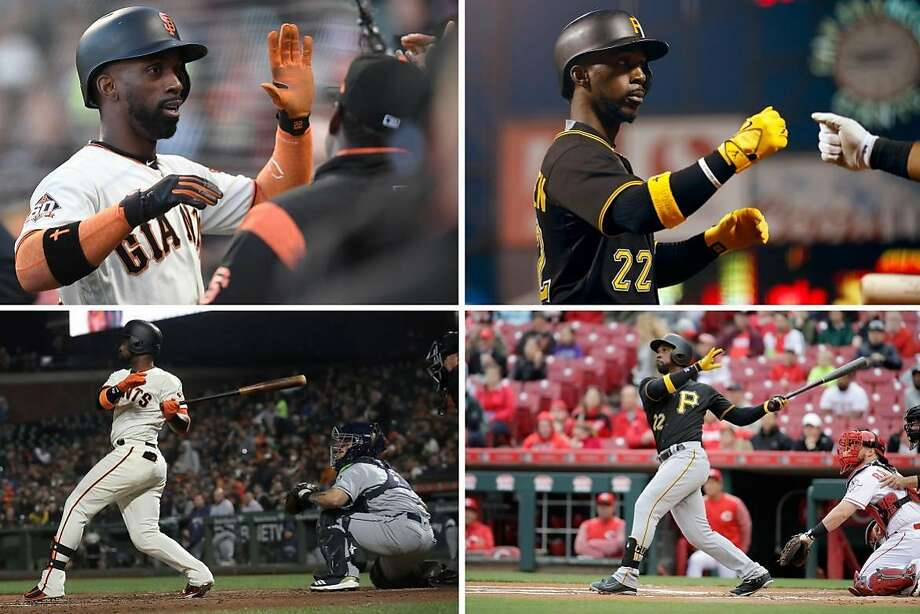 Andrew McCutchen is adjusting to the West Coast after being a fan favorite in Pittsburgh. Photo: AP Photos / Getty Images