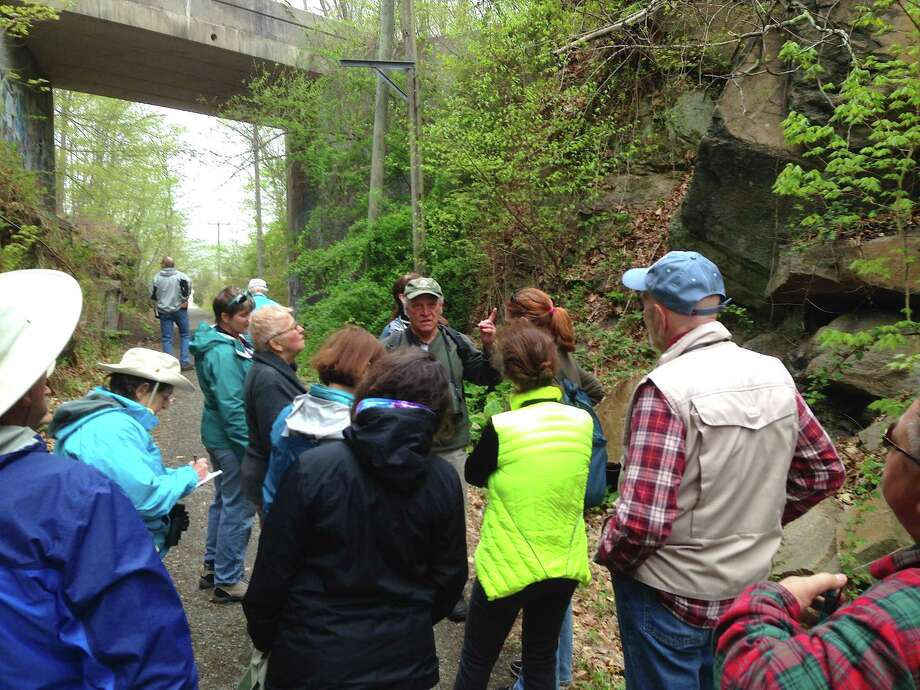BIRD WALKS: The Branford Land Trust's Nature Explorer Program is hosting a spring bird walk today at 8:30 a.m. Local birder Chris Woerner will lead the walk along the Stony Creek Trolley Trail and into the Land Trust's Vedder property. Meet in Stony Creek at the far end of West Point Road across from the Willoughby Wallace Library. Photo: Courtesy Of Jen Payne