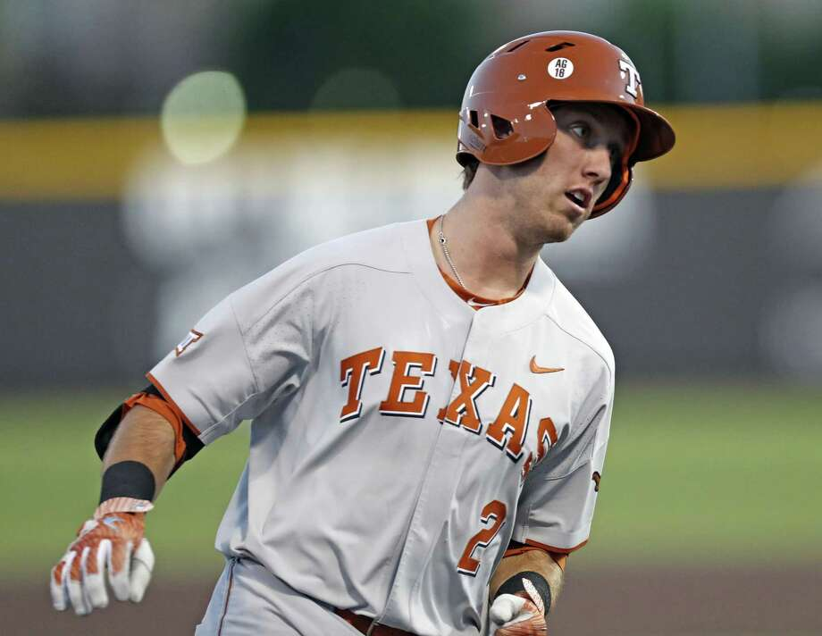Texas' Kody Clemens runs around third base after hitting a home run against Texas Tech during a college baseball game Friday, May 4, 2018, in Lubbock, Texas. (Brad Tollefson/Lubbock Avalanche-Journal via AP) Photo: Brad Tollefson, MBI / Associated Press / Lubbock Avalanche-Journal