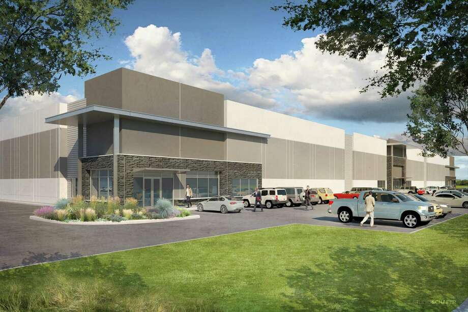 Jackson-Shaw leased 50 percent of the space in its Parc Air 59 industrial development prior to substantial completion in the first quarter 2019. Photo: Courtesy Jackson Shaw
