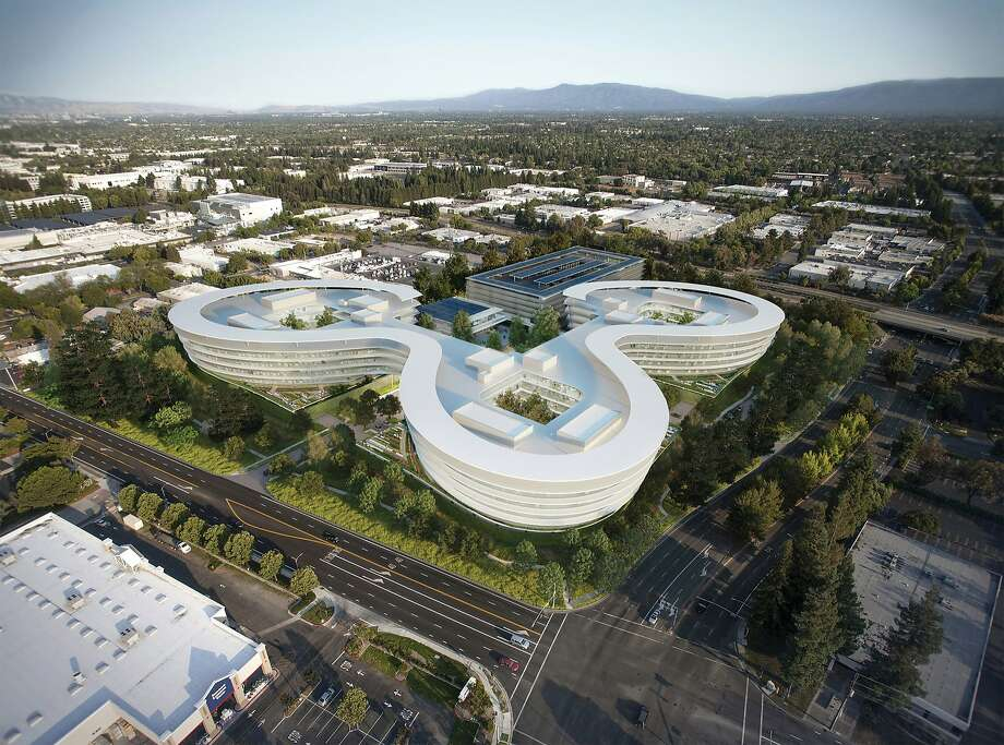The Central and Wolfe complex, an office park under development, occupies 700,100 square feet in Sunnyvale. Apple has reportedly secured office space in the buildings. Photo: City Of Sunnyvale