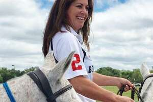 KSAT's Ursula Pari once again mounts a horse to play polo — this time while celebrating Mother's Day at a special tricentennial event.