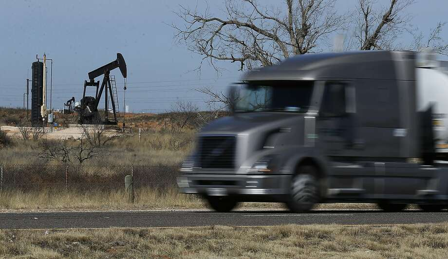 Gov. Michelle Lujan Grisham cited the ongoing oil boom in the Permian Basin, which spans parts of southeastern New Mexico and West Texas, as well as million-dollar dairy operations and other agricultural interests that help drive the state's economy.  Photo: Kin Man Hui, San Antonio Express-News