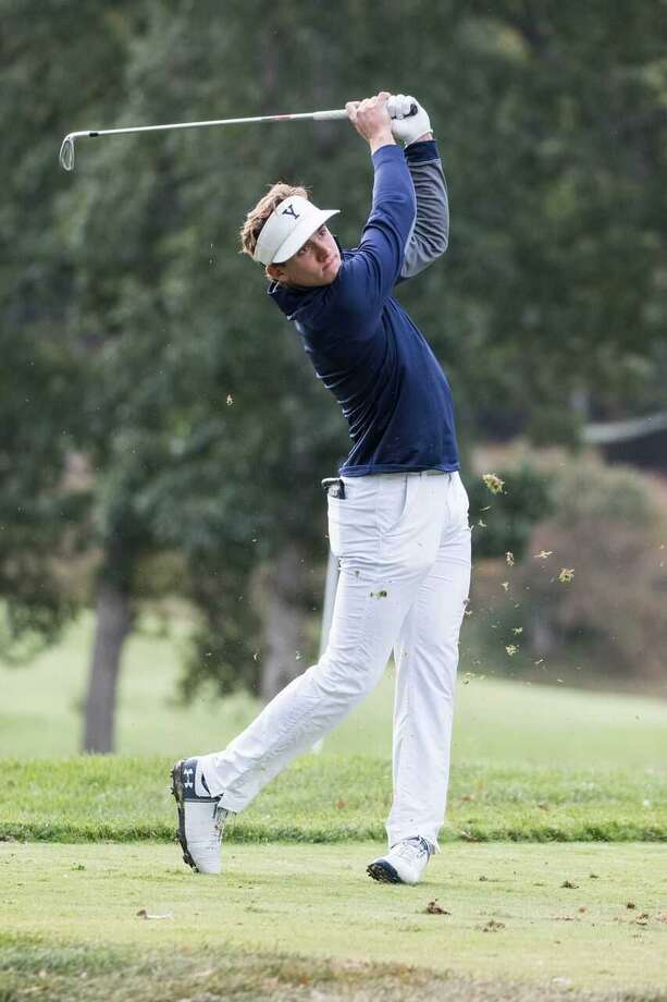 Yale's James Nicholas, the Ivy League Player of the Year, leads the Bulldogs into the NCAA Regionals at Columbus, Ohio next week Photo: Steve Musco / Yale Athletics