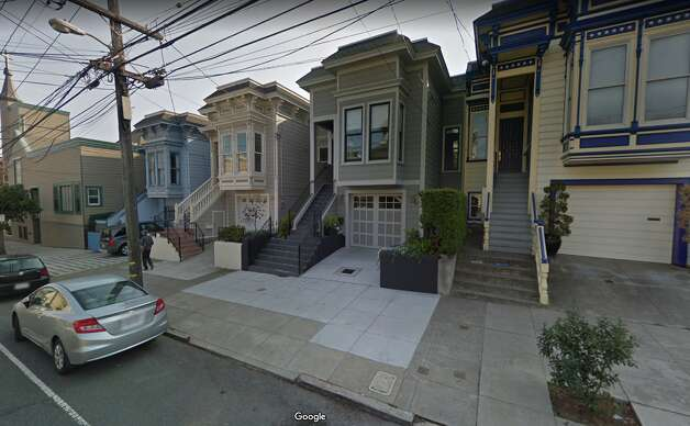 The approximate spot today, occupied by similar single-family homes. Photo: Google Street View