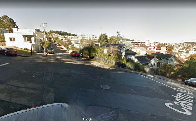 It's a lot denser now, although the hill is still steep for passing cars. Photo: Google Street View