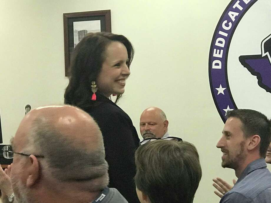 The Willis ISD Board of Trustees approved two new administrative hires during the regular meeting May 9, including new Willis High School Principal Stephanie Hodgins and  Kelley D. Moore, Ed.D. who was named the new principal of Parmley Elementary. Photo: Meagan Ellsworth