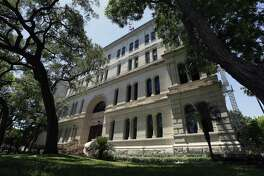 San Antonio City Council approved funding Thursday, May 10, 2018 to renovate City Hall, seen Thursday. The council approved, on an 8-3 vote, $38 million in certificates of obligation to fund the undertaking.