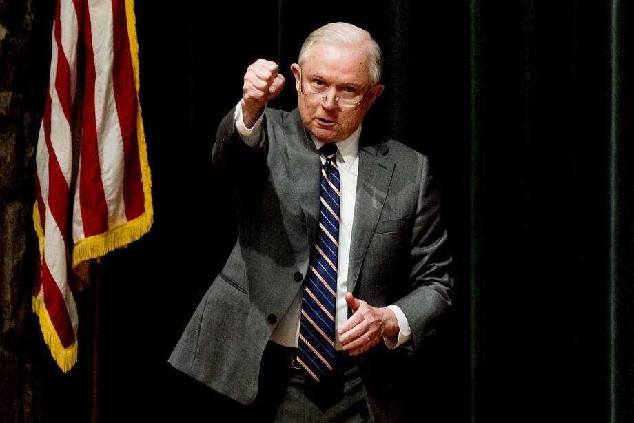 U.S. Attorney General Jeff Sessions' hard-line stance on immigration makes advocates fearful of decisions that could affect people who have no protection from criminal violence at home. Photo: Calvin Mattheis / Knoxville (Tenn.) News Sentinel