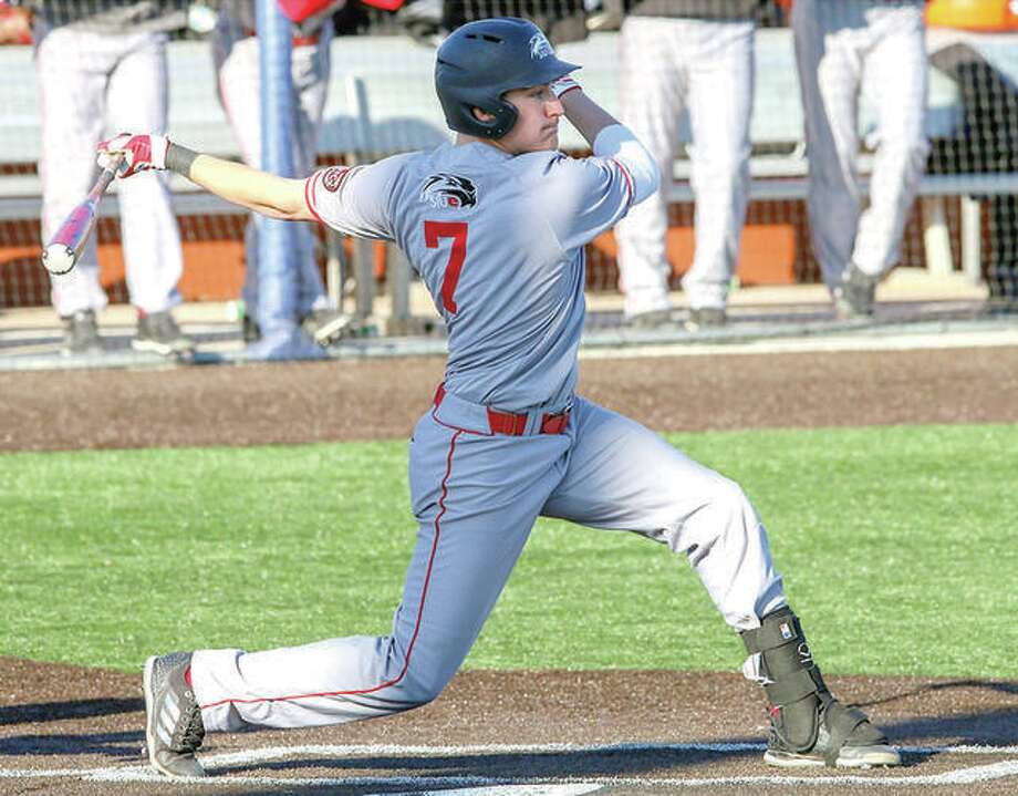 SIUE's Jared McCunn and his teammates face a critical Ohio Valley conference series this weekend at Eastern Illinois University in Charleston. Photo:       SIUE Athletics