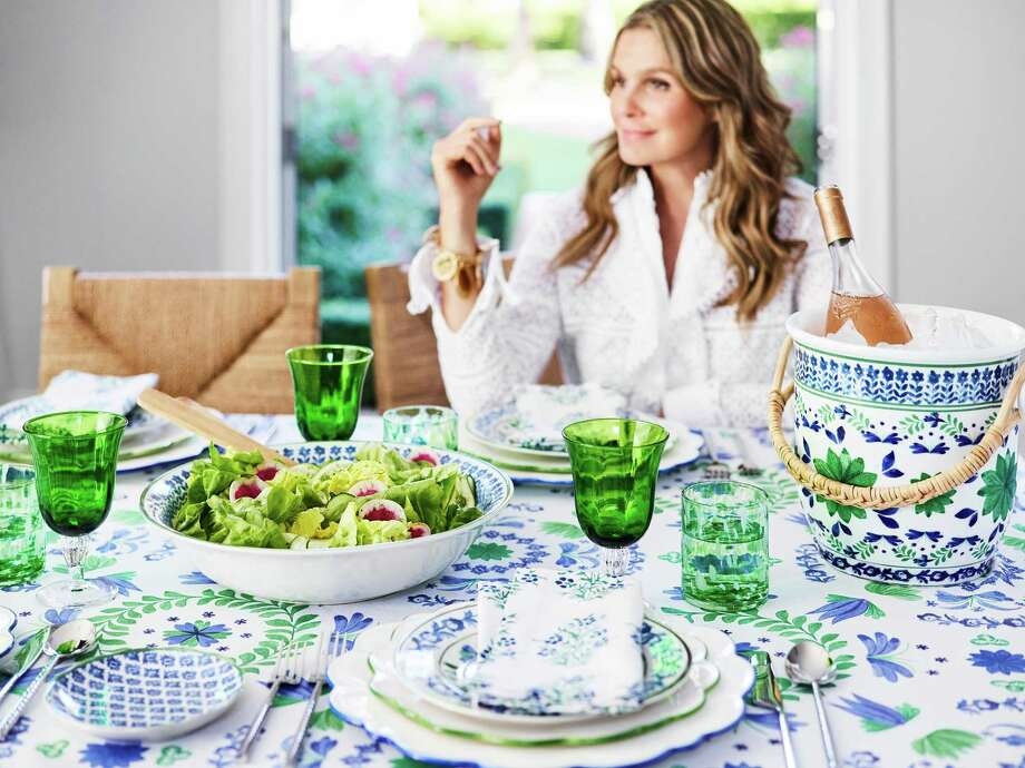 Aerin Lauder's Ardsley line makes a beauitful tabletop. Available at Williams Sonoma. Photo: Williams Sonoma / Williams Sonoma