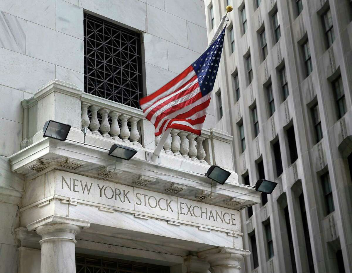 FILE - This Monday, Aug. 24, 2015, file photo shows the New York Stock Exchange. Stocks are off to a solid start on Wall Street, building on the market's gains from a day earlier. Technology and health care stocks rose more than the rest of the market in early trading Thursday, May 10, 2018. (AP Photo/Seth Wenig, File)