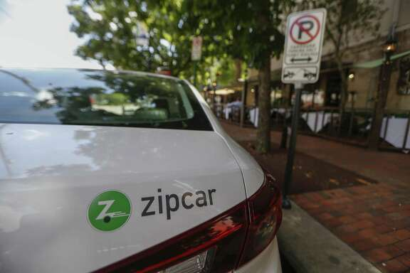 "A Zipcar parked at Babgy and Gray named ""Mayor Turner"" on May 10 in Midtown."