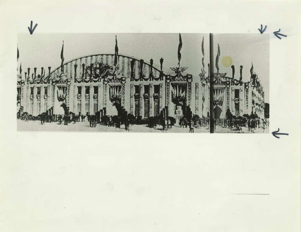 06/1928 - Sam Houston Hall was the site of the 1928 Democratic National Convention.