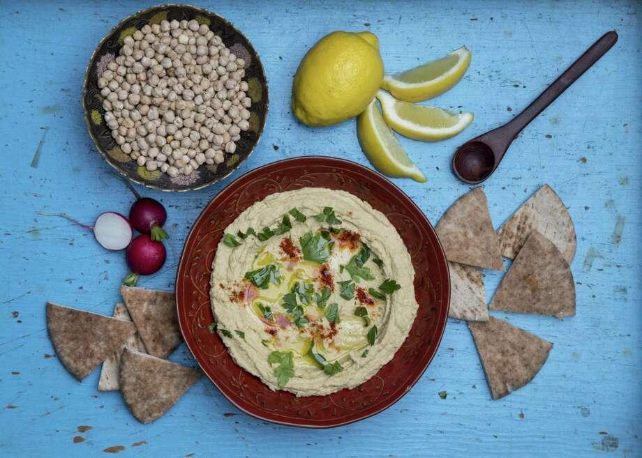 "James Beard Award-winning chef Alon Shaya offers a hummus recipe in his new cookbook, ""Shaya."" Photo: Jon Shapley, Houston Chronicle / Houston Chronicle / © 2018 Houston Chronicle"