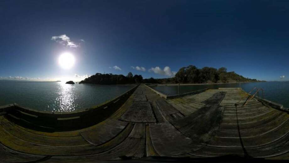 """Felicia Lowe's virtual reality film """"Pacific Gateway: Angel Island VR"""" is her second documentary about the West Coast immigration station. Photo: CAAMfest"""