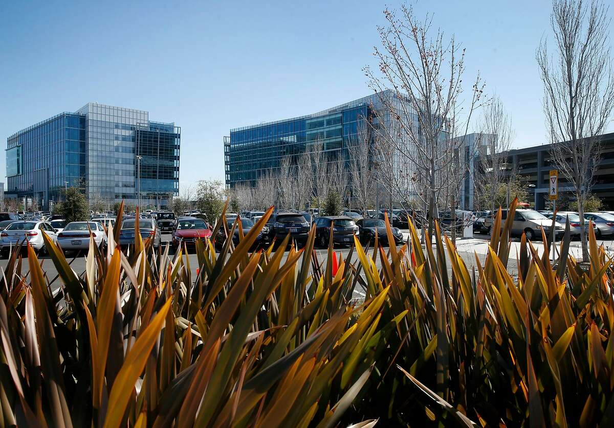 Google�s Moffett Place campus has several office buildings on Bordeaux Drive in Sunnyvale, Calif. on Tuesday, Feb. 20, 2018.