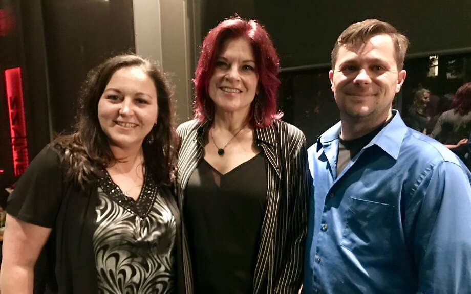 LeeAnne Walters, Rosanne Cash and Dennis Walters Photo: Will Parrinello / Special To The Chronicle